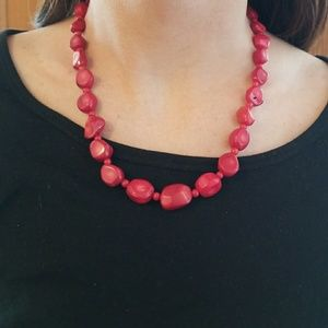 Jewelry - Red Coral Necklace